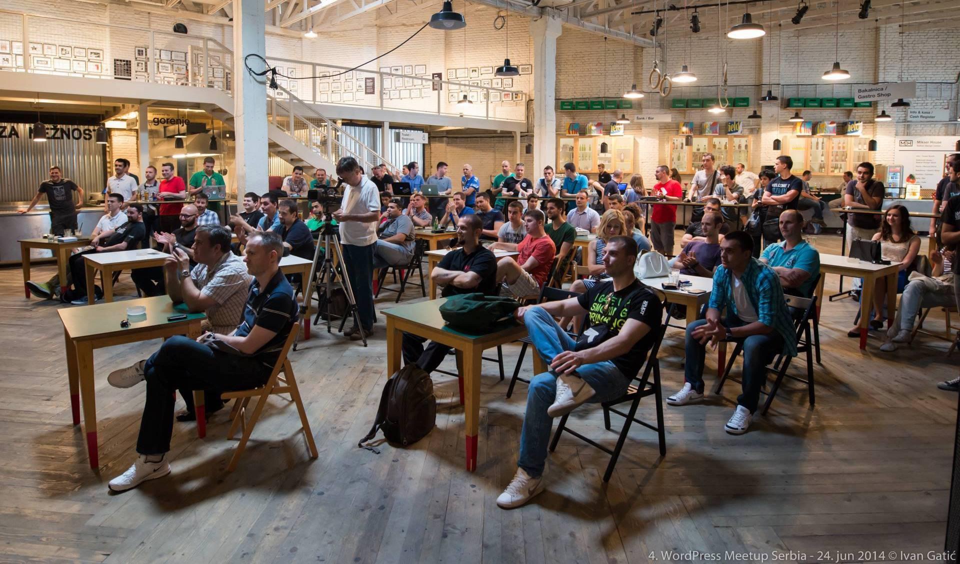 WordPress meetup in Serbia